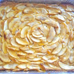 Tarta-Bizcocho de Manzana