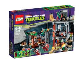 Ataque-guarida-tortugas_Lego_PintandoUnaMama