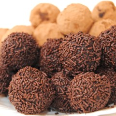 Trufas Caseras Especiales de 2 Chocolates