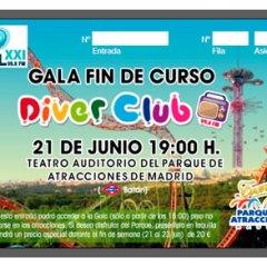 Gala Infantil Fin de Curso con DiverClub de RadioSol XXI
