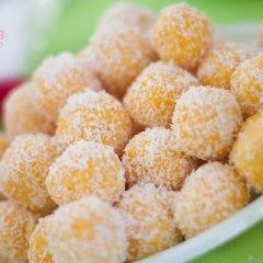 Bolitas Dulces de Zanahoria y Coco