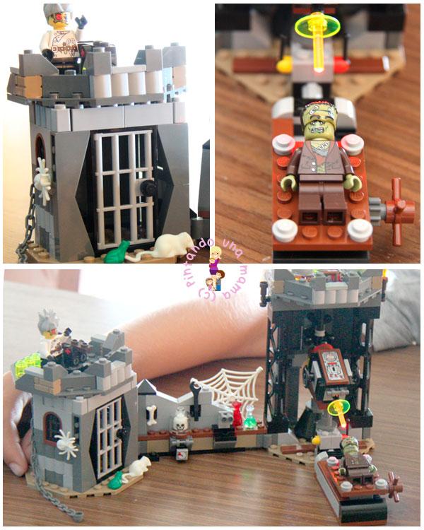 LEGO_ElCientificoLoco3_PintandoUnaMama