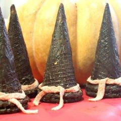 Sombreros de Bruja Dulces para Halloween