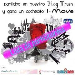 Lista de Participantes en el Blog Train de Chicco