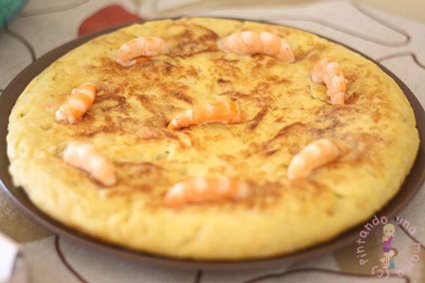 tortilla-patatas-gambas_PintandoUnaMama
