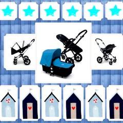 Bugaboo Cameleon Azul Chasis Negro