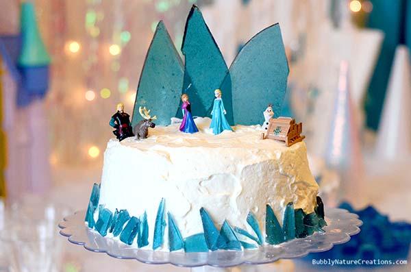 Tarta_Frozen_Elsa_y_Ana_PintandoUnaMama