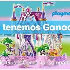 Ganadora Sorteo Castillo de Playmobil