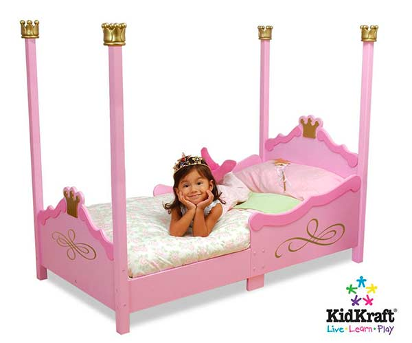 8 camas ideales habitaci n infantil ni as pintando una - Camas de princesas para nina ...