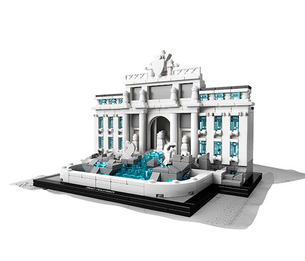 Fontana-Trevi-LEGO-Architecture