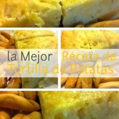 La Mejor Receta de Tortilla de Patatas