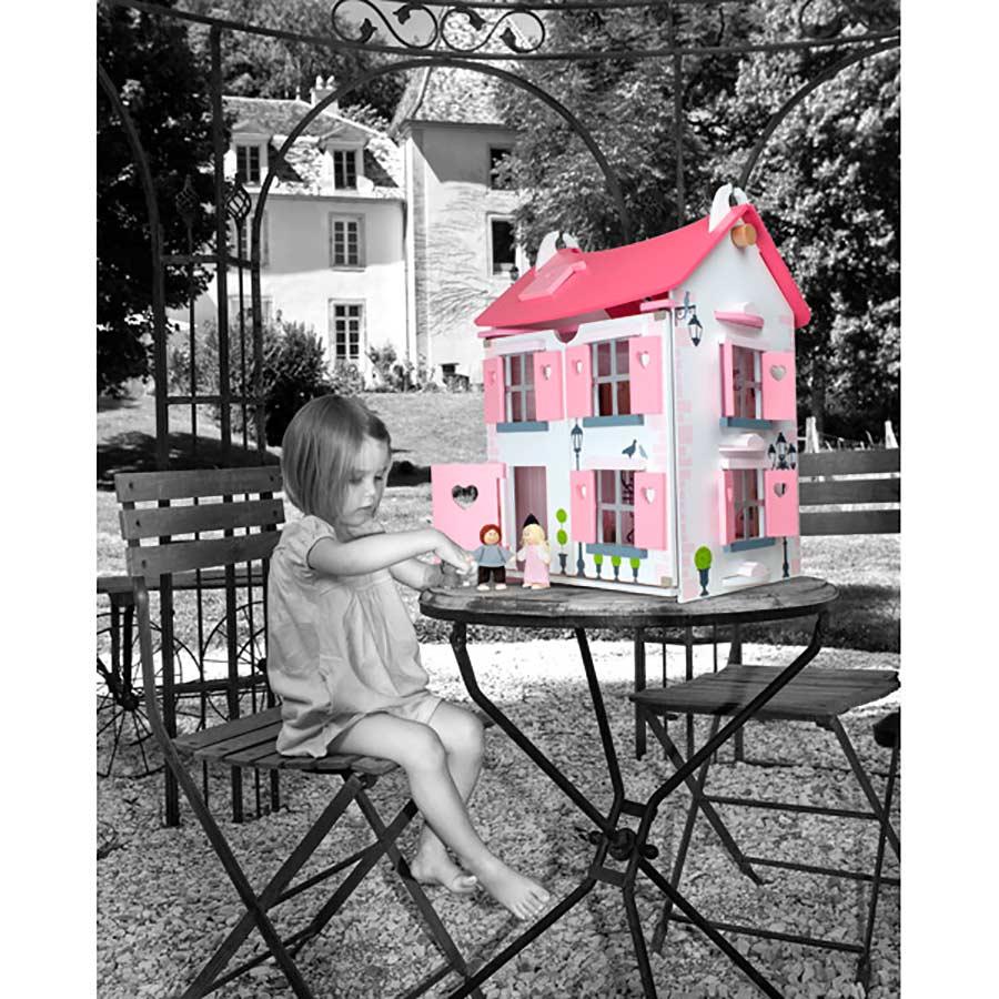 8 preciosas casas de mu ecas para ni as pintando una mam pintando una mam - Casa de munecas teatro ...
