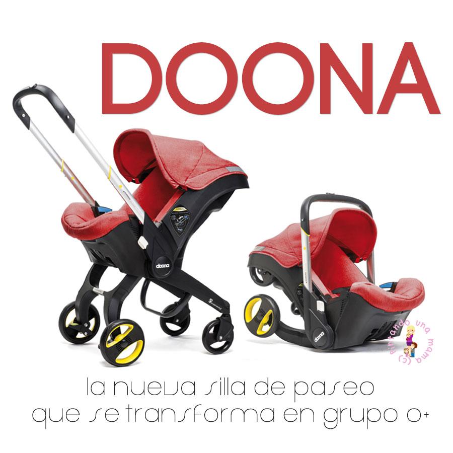Doona la silla que se transforma en grupo 0 pintando for Silla coche bebe grupo 0