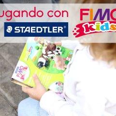 Jugando con FIMO KIDS de Staedtler