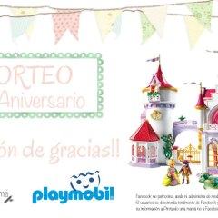 Sorteo Gran Palacio de Princesas de Playmobil