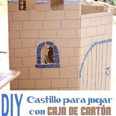 Hacer un Castillo con una Caja de Cartón