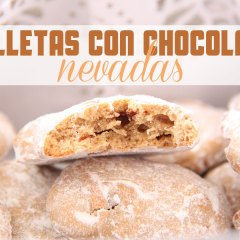 Galletas con Chocolate Nevadas