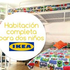 Habitación Completa para Dos Niños de Ikea