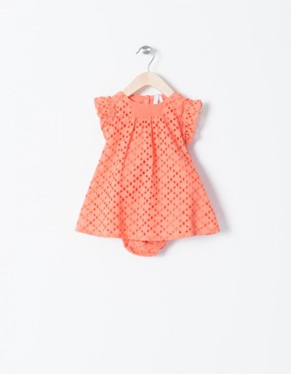 vestido-algodon-naranja-bebe