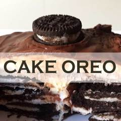 Espectacular Cake de Oreo y Chocolate