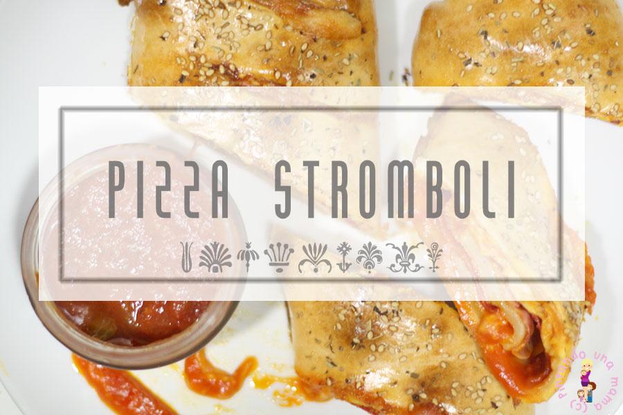 Pizza Stromboli de Jamón Chorizo y Queso - Pintando una mamá ...