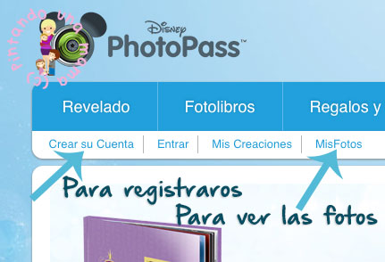 Photopass-registro