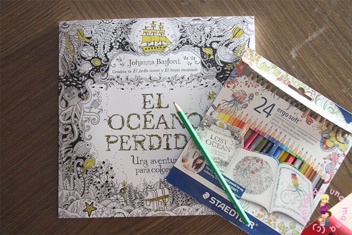 Libros de Colorear para Adultos: El Océano Perdido de Johanna ...