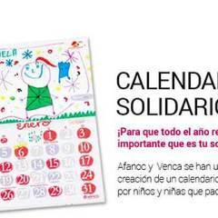 Calendario Solidario AFANOC y VENCA 2016