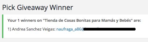 ganador