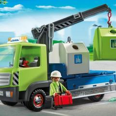 Playmobil Reciclaje de City Action