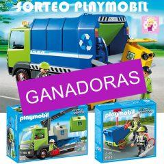 Ganadores Sorteo Playmobil Reciclaje