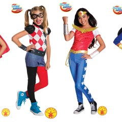 Disfraces de Superheroínas DC Super Hero Girls