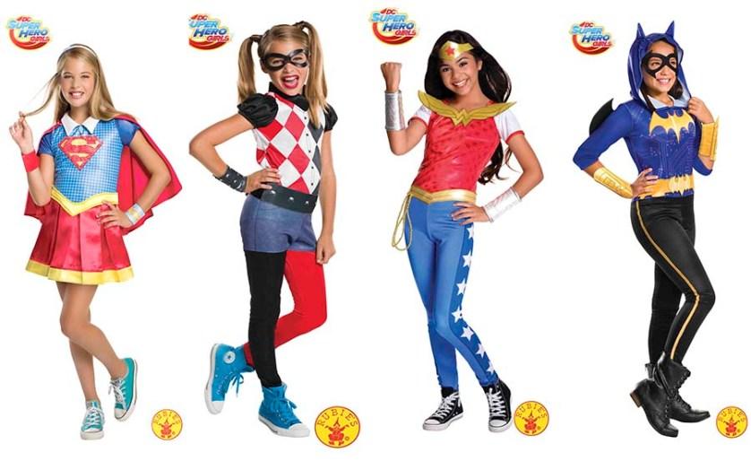 Disfraces de Superheroínas DC Super Hero Girls - Pintando una mamá ...