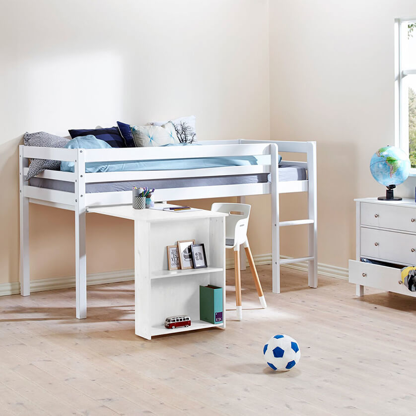 cama con escritorio