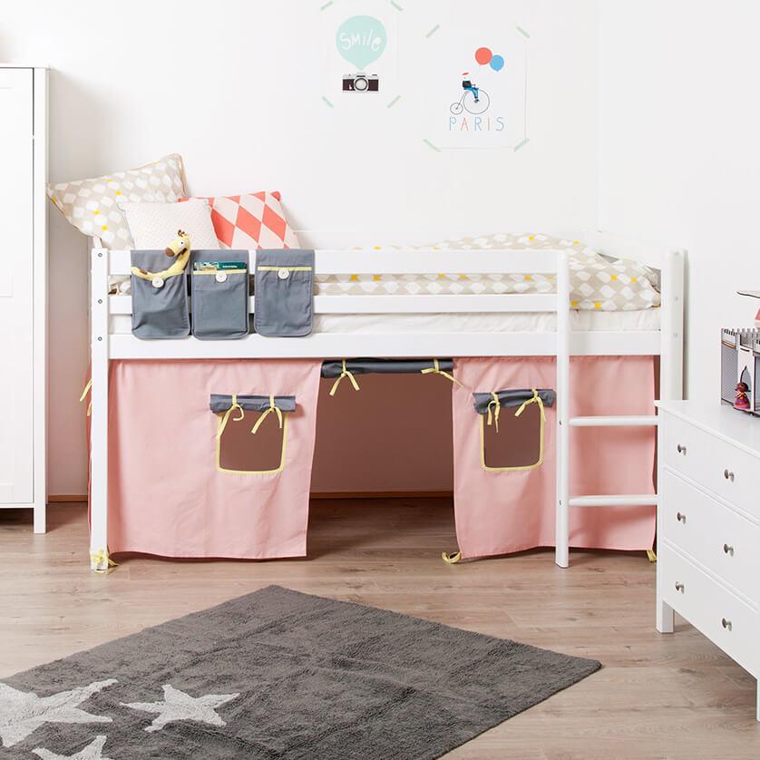 Habitaciones para niños con tienda de juegos