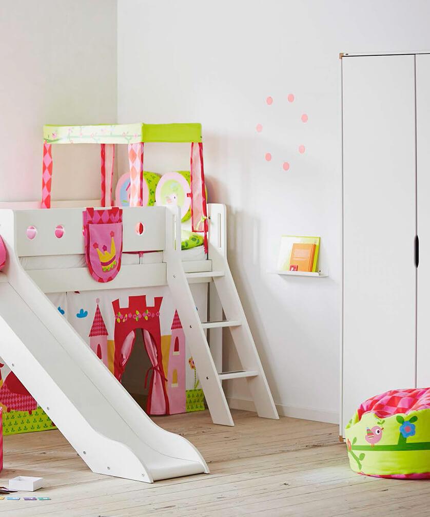 habitación castillo de princesas