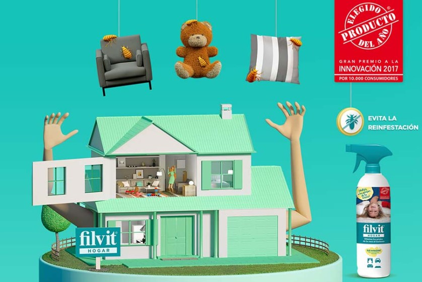 Filvit hogar para eliminar al instante piojos y liendres en casa pintando una mam - Eliminar sarro en casa ...
