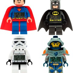 Reloj Despertador Lego Watches de Superhéroes para Niños