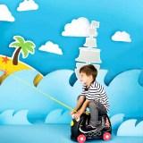 Las mejores maletas para niños son de Trunki Travels