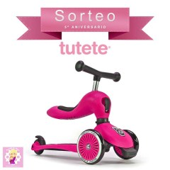 Patinete y Correpasillos 2 en 1 Highwaykick One de Scoot And Ride en Tutete