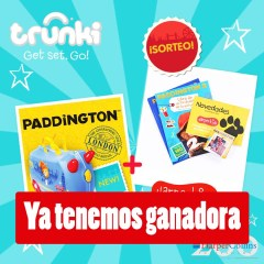 Ganadora Maleta Trunki Paddington