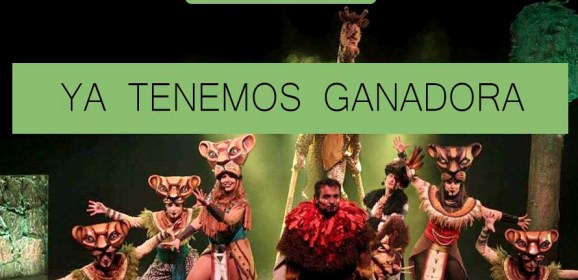 Ganadora del Nuevo Tributo a El Rey León en Alicante