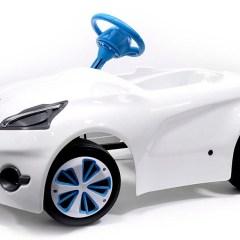 Cochecito A Pedales para Niños Inspirado en el Peugeot 208