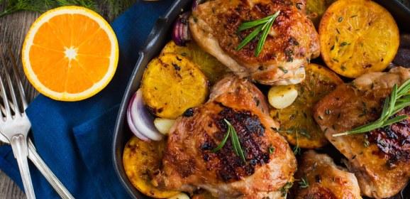 Cómo se prepara el pato a la naranja