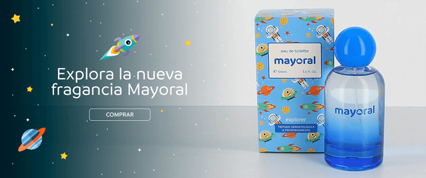 Fragancia Explorer de Mayoral