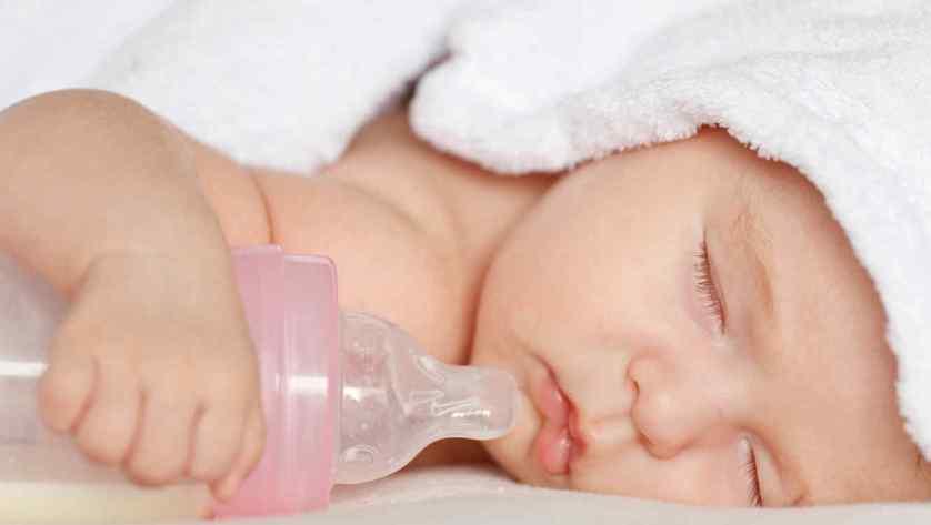 La leche de fórmula se puede recalentar