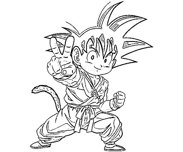 imagens de desenhos do goku