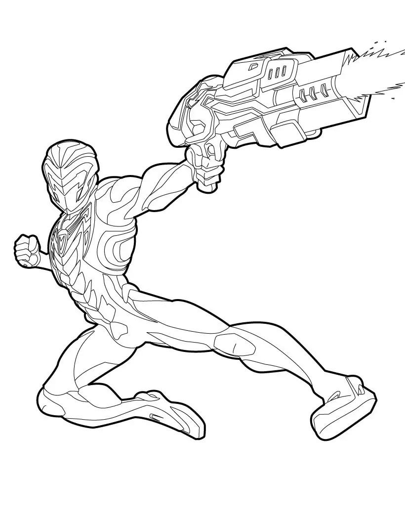 desenhos do max steel novo para colorir
