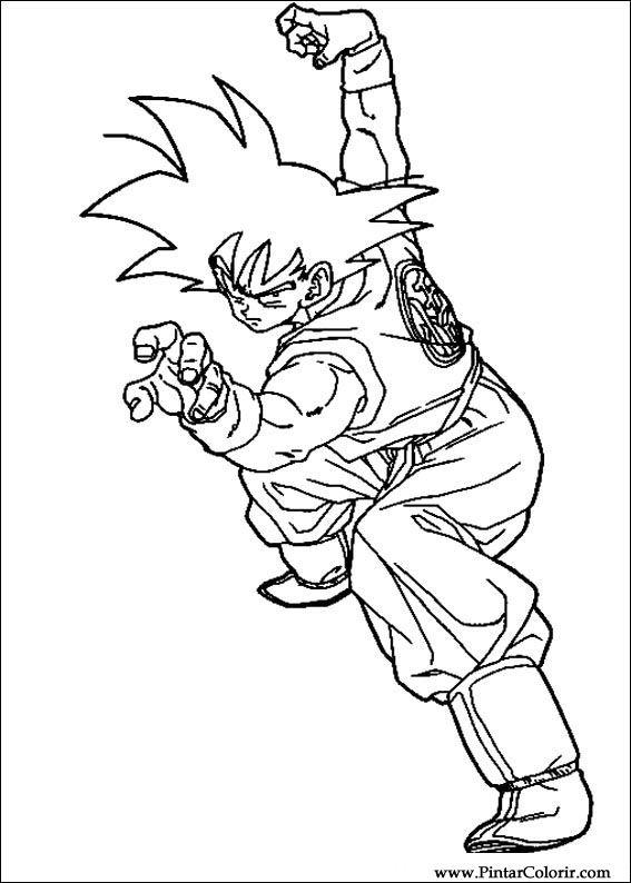 Imagenes De Dragon Ball Z Para Colorear E Imprimir Imaganationfaceorg