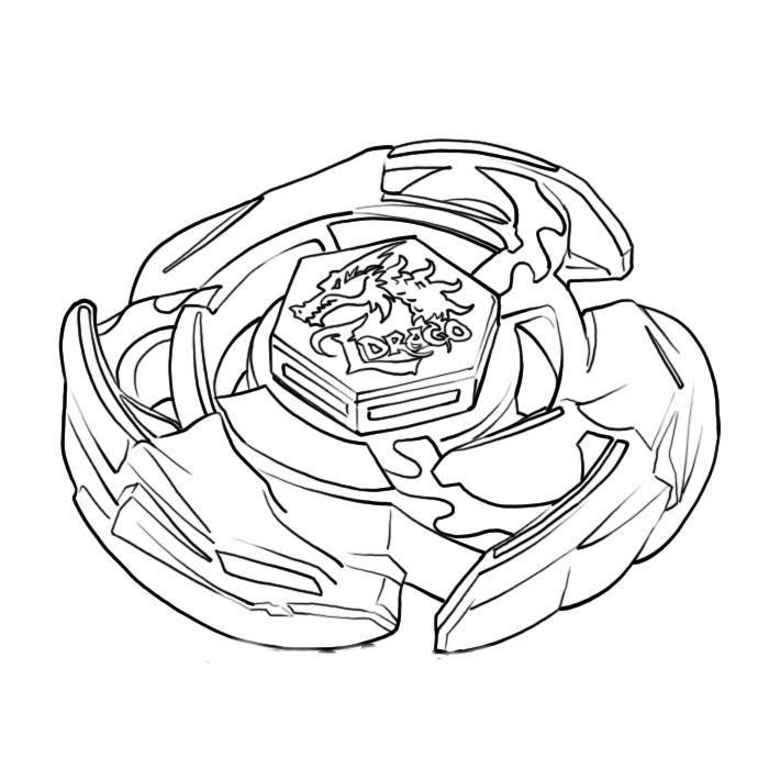 Beyblade Desenhos Para Imprimir Pintar E Colorir